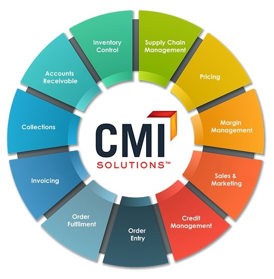 CMI Process Wheel Infographic