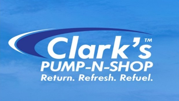 Clark's PUMP-N-SHOP Logo